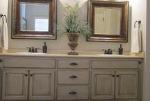 Bathroom Remodel / Ideas for finishing the bathroom remodel.