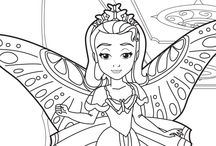 Sofia the First: The Floating Palace  / Sofia the First: The Floating Palace, crafts, coloring pages, maze, printables