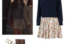 Hannah Baker outfits