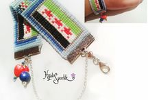 Loomwork beaded bracelets by Hijab Sparkle