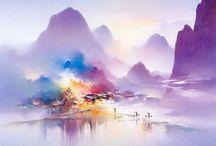 Пейзажи Hong Leung