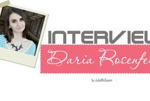 Interview with... / My Interview with interesting people