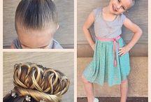 Lány frizurák