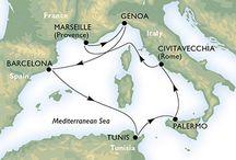 Middellandse See en ander cruises