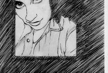 Retratos / Serie de Dibujos