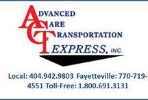 Great Non-Emergency Medical Transportation & Wheelchair Transportation Atlanta GA / ACT Express provides quality care PARA TRANSIT Medical and Non-Emergency Medical Transportation in Atlanta GA , Wheelchair Transportation and Stretcher Medical Transportation.