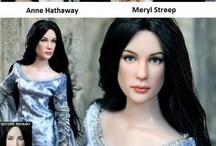 repainted dolls