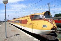 vlaky - Španělsko + Portugalsko