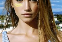 Festival Make up styles / Hippie lifestyle