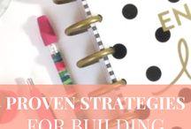 Brilliant Blogging Strategy Board