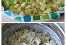 Chicken Apple and Celery Salad