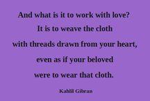 Poetry - Khalil Gibran
