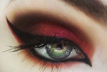 Eye Ideas / In this board I will share some of my personal favorite colorful and flashy eye makeup  Follow my Instagram: @doraigaa_x