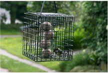 Garden bird feeders