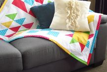 Quilting for Beginners FREE E-Course / Quilting for Beginners FREE E-Course where you learn one quilt block pattern a week before sewing all your blocks together to create a square, quilted blanket