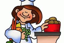 Thema koken en bakken kleuters / Cooking theme preschool / Thema koken en bakken kleuters lessen en werkjes / Cooking theme preschool lessons and crafts