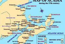 Acadie,cajuns,louisane, / Acadie,