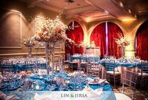 Blue Weddings / Blue Wedding Ideas and Inspirations