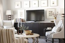 Home - TV Wall Ideas / by Maria Carriger