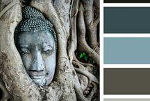 FENG SHUI / Správná volba barev je jednou z nejjednodušších možností jak v místnosti zajistit správné rozložení energie. Každá feng shui barva představuje 5 základních elementů... http://paletabarev.webnode.cz/feng-shui/