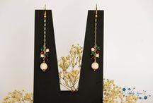 Lady Jane Earrings (Pendientes de Lady Jane) / Colección de pendientes de Lady Jane.  Síguenos en Pinterest y en Facebook. ¡Gracias por tu visita!
