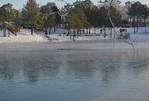 Winter at Davis Lakes