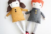 boneka,cloth doll,softies&plush / by Tsabita BonekaPuppet