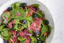 Jersey Fresh Salads / Recipes for salads using all different kinds of Jersey Fresh fruits and vegetables.