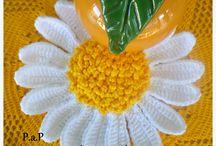P.a.p Flor Margarida para aplicação
