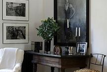 Antique with Modern / Inspiration for mixing up styles and periods in home decor
