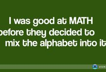 Math Jokes / A collection of funny math jokes, images and more.