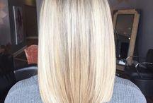 Blunt hair