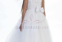 2012 New Flower Girl Dresses