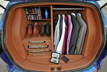 Place for your clothes if you travel :)