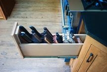 Storage Solutions / Various storage solutions for the home