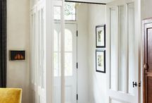 Doors Alcove / Keeping the outdoor temperatures OUTDOORS / by HouseOrganized