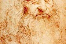 Leonardo Da Vinci / Life works and facts of Leonardo Da Vinci / by Karla Bigger