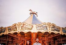 pre  wedding  parque  de diversões