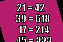 Math Puzzles / Popular math puzzles. These brain teasers require math thinking.