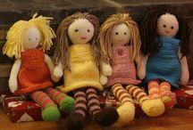 knitted ragdoll