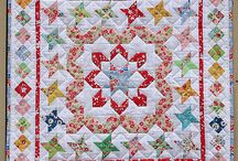 Rainbow/medallion quilts
