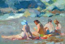 People in paintings