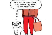 Mops Comic