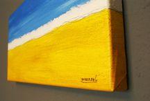Malerei & Gemälde / Origanle Acrylmalerei, Ölbilder