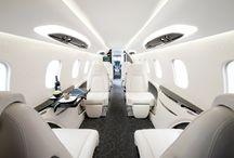 Airplane interiors
