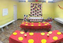 Mickey Mouse Room Palm Tree Playground