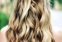 Wavy inspiration / Idées de coiffures avec un wavy