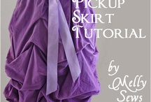 DIY sewing dress skirt 1 / by Line Tremblay