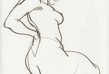 sketch: posing