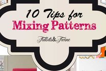 DIY - 10 TIPS FOR MIXING PATTERNS LIKE A PRO